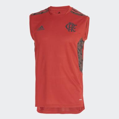 Camisa Sem Manga CR Flamengo Vermelho Homem Futebol