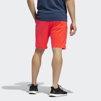 Pantalón corto 4KRFT Rojo Hombre Gimnasio Y Entrenamiento