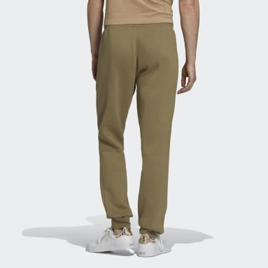 Men Originals Green Adicolor Essentials Trefoil Joggers