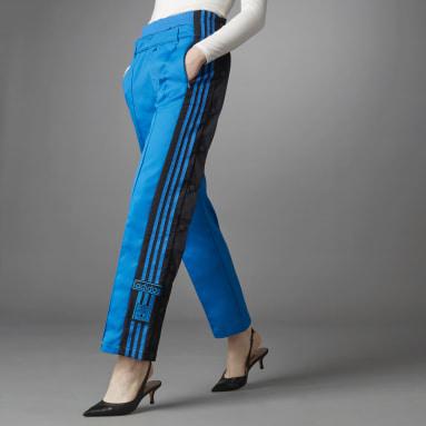 Pantalón Adibreak Blue Version Woven Azul Mujer Originals