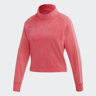 Women Sportswear Pink Sport ID Top