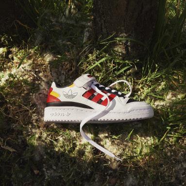 Kids Originals White Forum Low Shoes