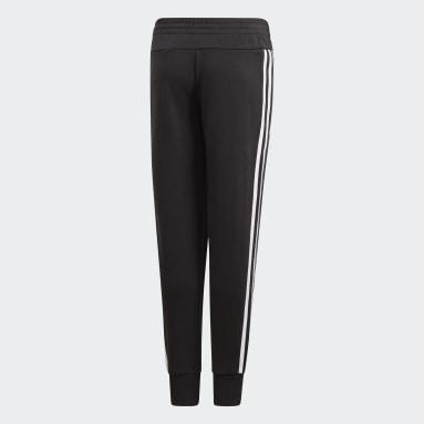 Mädchen Fitness & Training Must Haves 3-Streifen Hose Schwarz