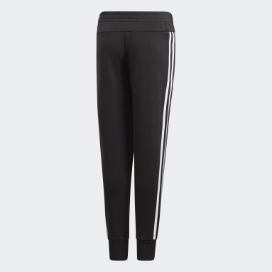 Girls Gym & Training Black Must Haves 3-Stripes Joggers