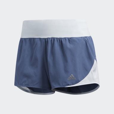 Shorts Run It Azul Mujer Running