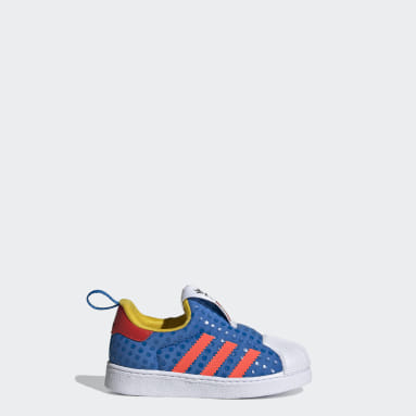 Infant & Toddlers 0-4 Years Originals Blue adidas Superstar 360 x LEGO® Shoes