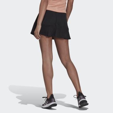 Women's Tennis Black Tennis Primeblue Aeroknit Match Skirt