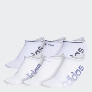 Women's Training Multicolor Linear Superlite No-Show Socks 6 Pairs