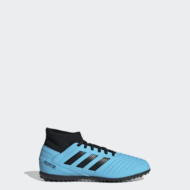 Girls Football Turquoise Predator Tango 19.3 Turf Boots