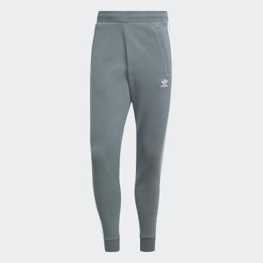 Pants Adicolor Classics 3 Franjas Azul Hombre Originals