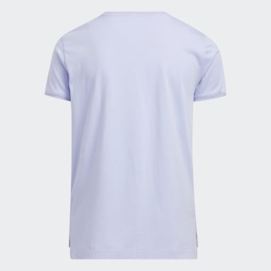 Youth Training Purple Graphic Vent Tee