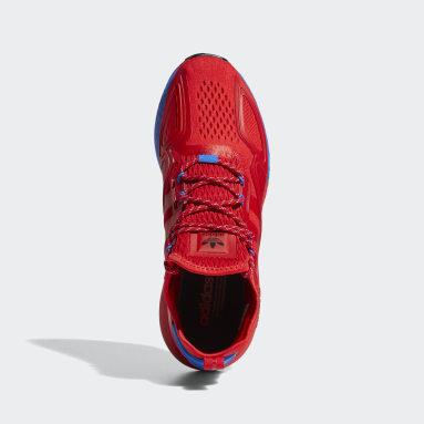 Chaussure ZX2K Boost Rouge Hommes Originals