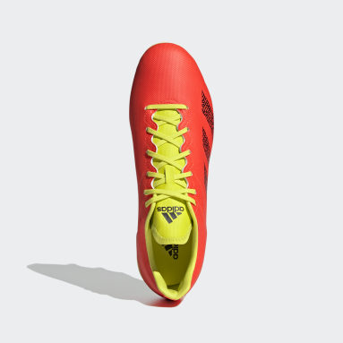 Rugby Orange Kakari Soft Ground Boots