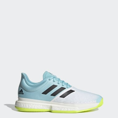 Chaussure de tennis SoleCourt Primeblue Blanc Hommes Padel Tennis