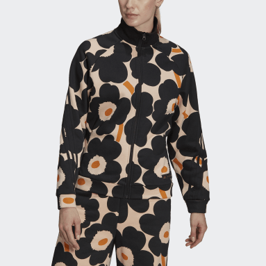 Veste de survêtement adidas Sportswear Marimekko Fleece Rose Femmes Sportswear