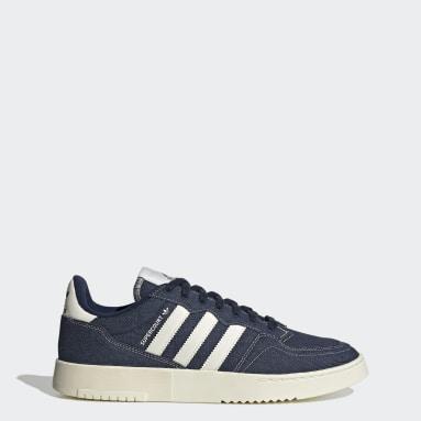 Frauen Originals Supercourt Schuh Blau