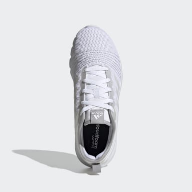 Running White Fluidup Shoes