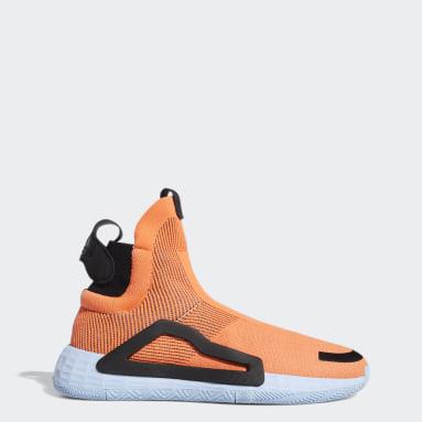 Men's Basketball Orange N3XT L3V3L Shoes