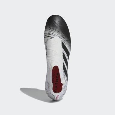 Calzado de Fútbol NEMEZIZ 18+ SG Blanco Hombre Fútbol