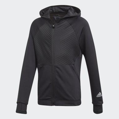 Chaqueta con capucha COLD.RDY Full-Zip Negro Niña Deportes De Invierno