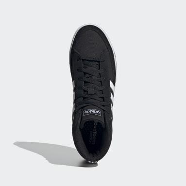 Men Sport Inspired Black Retrovulc Mid Shoes