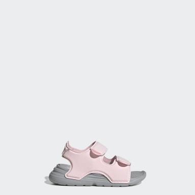 Infants Swimming Pink Swim Sandals