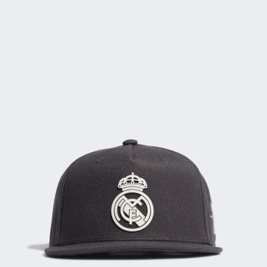 Football Grey Real Madrid Snapback Cap