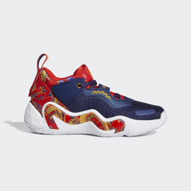 Youth Basketball Blue Donovan Mitchell D.O.N. Issue #3 x Bel-Air Athletics Shoes