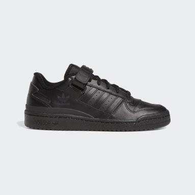 Men Originals Black Forum Low Shoes