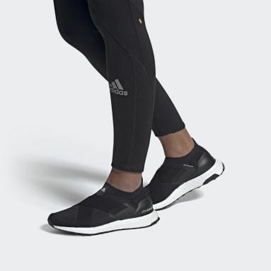 Frauen Running Ultraboost Slip-On DNA Laufschuh Schwarz