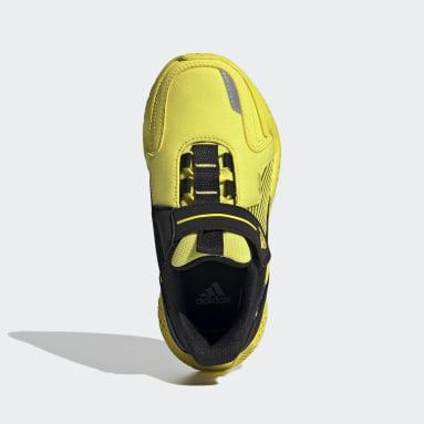 Kids Sportswear Yellow 4UTURE Runner Shoes