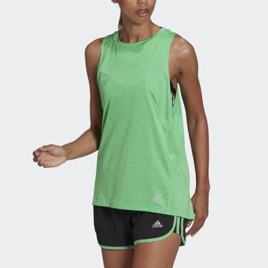 Regata Own The Run Verde Mulher Running