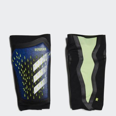 Fodbold Sort Predator Pro benskinner