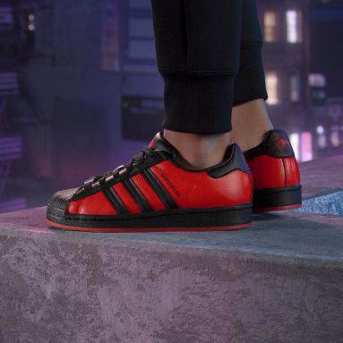 Kids Originals Black Marvel's Spider-Man: Miles Morales Superstar Shoes