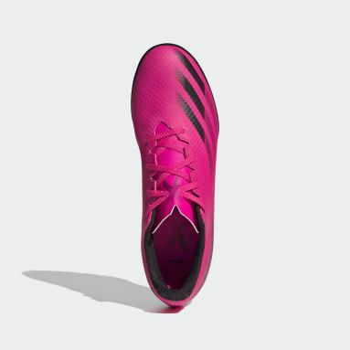 Guayos X Ghosted.4 Pasto Sintético Rosa Hombre Fútbol