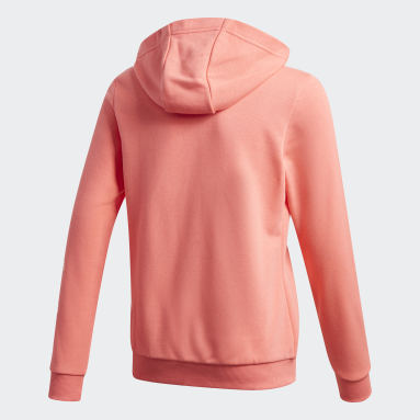 Youth 8-16 Years Lifestyle Pink Must Haves Logo Full-Zip Hoodie