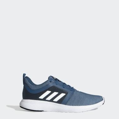 Men Running Blue Thrum Shoes