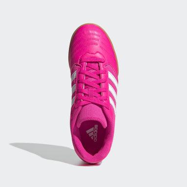 Botas de Futebol Super Sala Rosa Rapazes Futebol