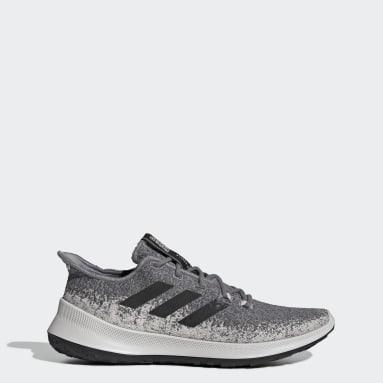 Men Running Grey Sensebounce+ Shoes