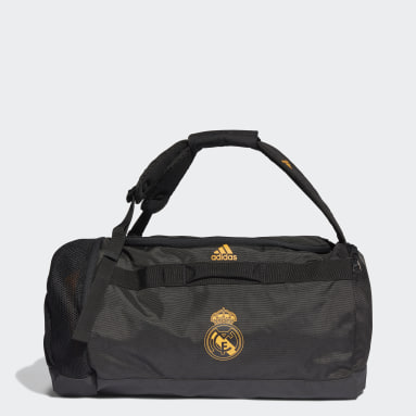 Fodbold Sort Real Madrid sportstaske, medium