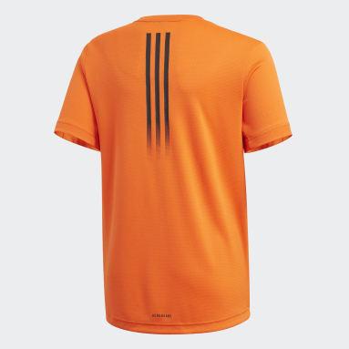 Camiseta AEROREADY Naranja Niño Estudio