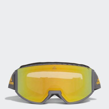 Winter Sports Grey Snow Goggles SP0040