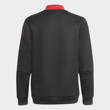 черный Гимновая куртка Манчестер Юнайтед Tiro