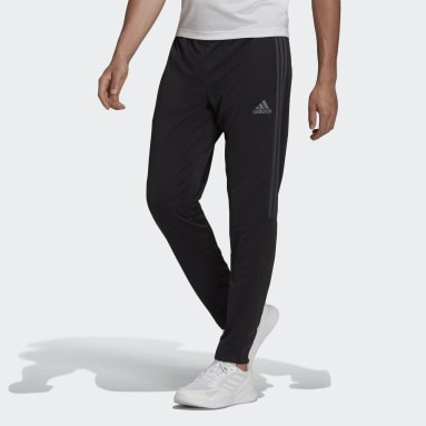 Pantalon AEROREADY Sereno Slim Tapered Cut 3-Stripes noir Hommes Soccer