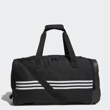 Men Golf Black adidas Team Wheel Bag