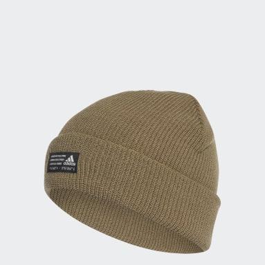 Bonnet en laine Performance vert Entraînement