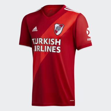 Jersey de Visitante River Plate 20/21 Rojo Hombre Fútbol