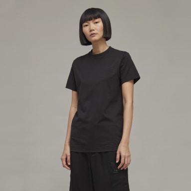 Frauen Y-3 Y-3 Classic Chest Logo T-Shirt Schwarz