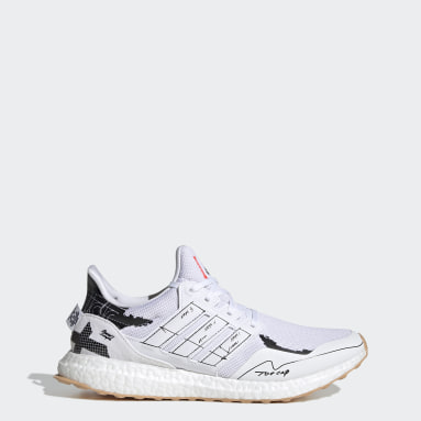 Running White Ultraboost Clima Shoes