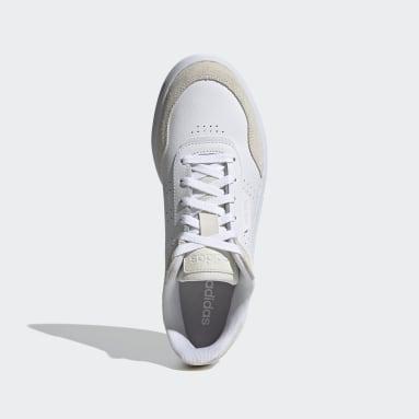 Tennis wit Courtphase Schoenen